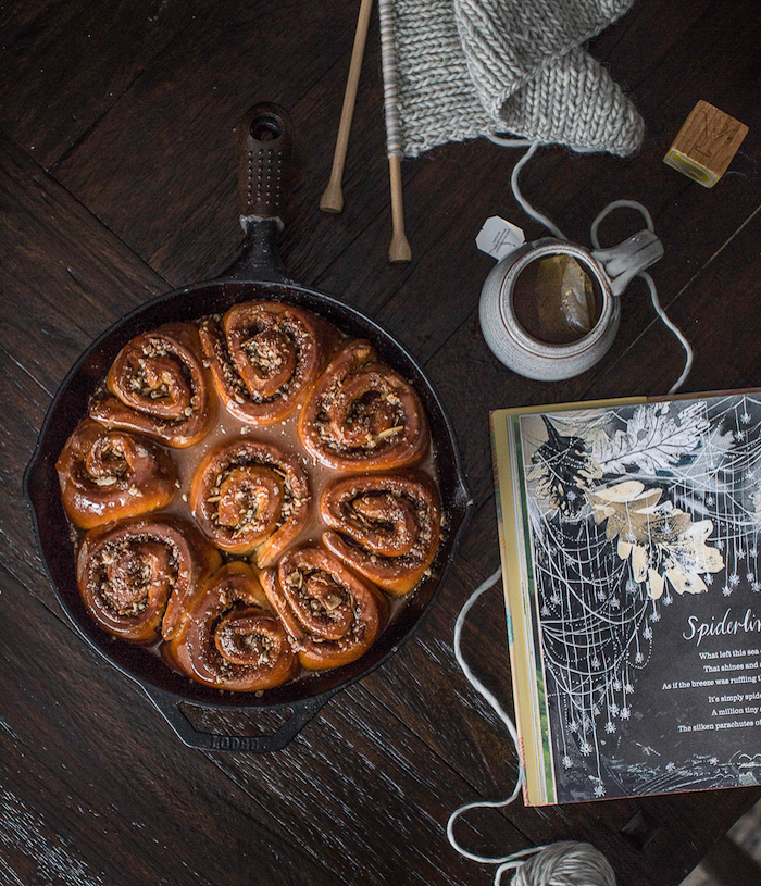 Recipe for Cast Iron Skillet Sweet Rolls