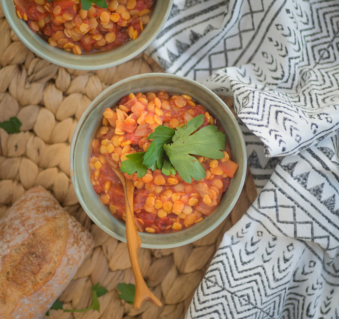 Recipe for Smokey Red Lentils.